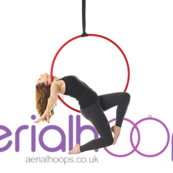 Aerial hoop lyra circus red Bendy Stag