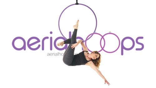 Aerial hoop lyra circus Martini Sit