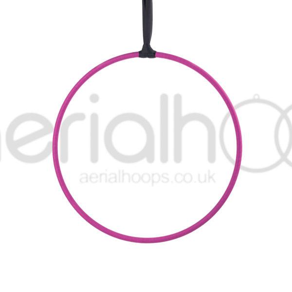 Aerial hoop lyra circus strap pink