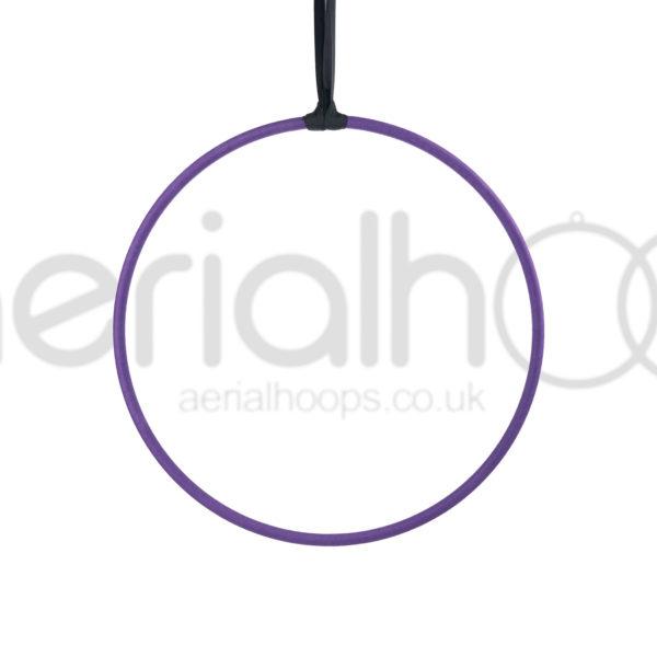 Aerial hoop lyra circus strap purple