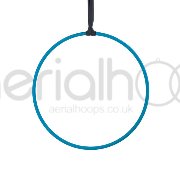Aerial hoop lyra circus strap turquoise