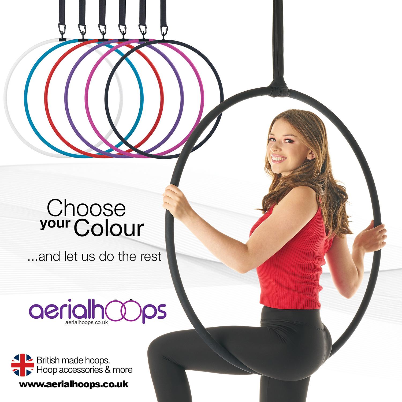 Aerial hoop lyra circus artist Choose Your Colour