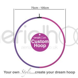 Aerial hoop lyra circus custom hoop 75 80 85 90 95 100 105cm