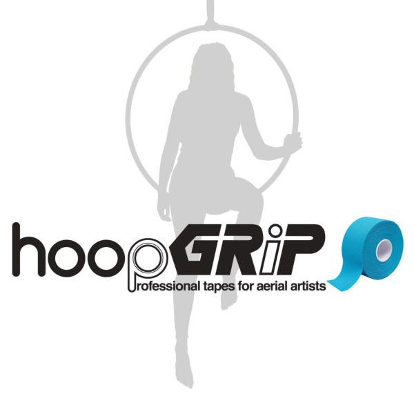 aerial hoop lyra circus HoopGrip Athletic Tape Turquoise