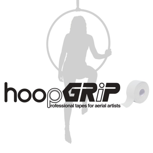 aerial hoop lyra circus HoopGrip Athletic Tape White