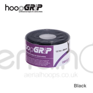 aerial hoop lyra circus HoopGrip Athletic Tape Black
