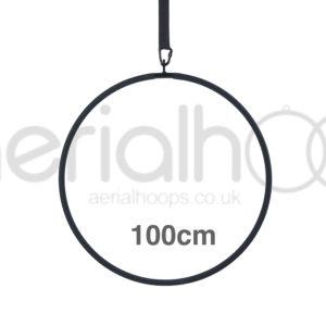 100cm aerial hoop lyra circus black