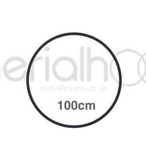 100cm zero point aerial hoop lyra circus Black