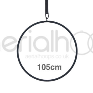 105cm aerial hoop lyra circus black