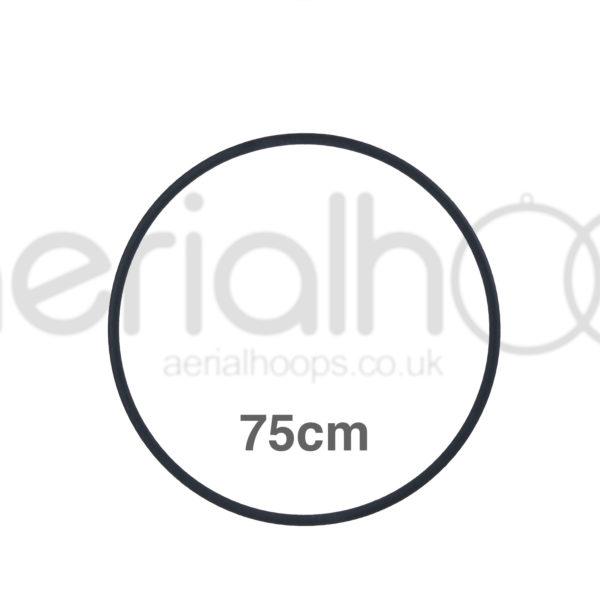 75cm zero point aerial hoop lyra circus black