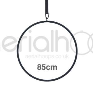 85cm aerial hoop lyra circus black