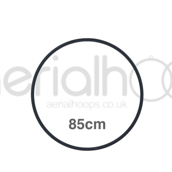 85cm zero point aerial hoop lyra circus black