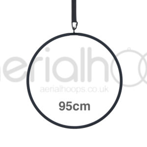 95cm aerial hoop lyra circus black