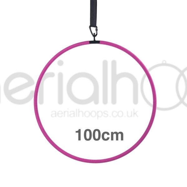 100cm aerial hoop lyra circus pink