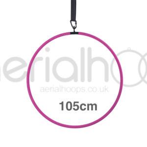 105cm aerial hoop lyra circus pink