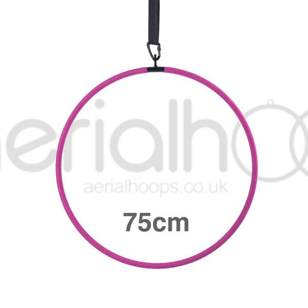 75cm aerial hoop lyra circus pink