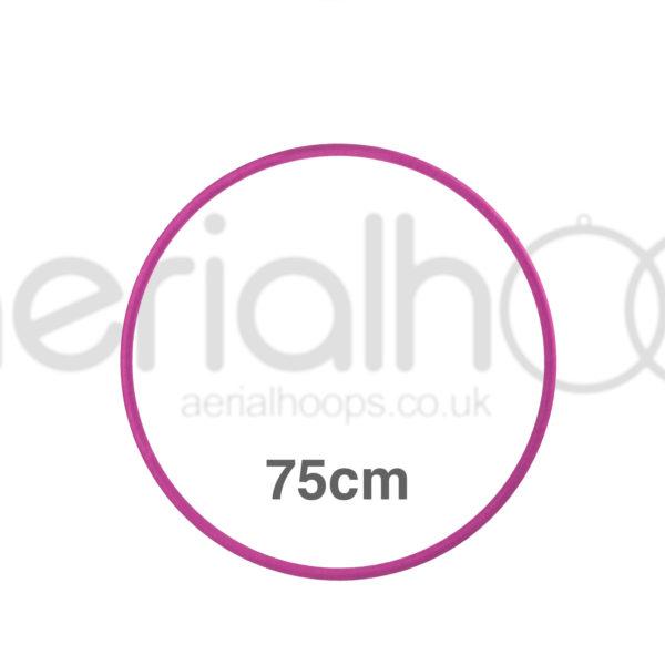 75cm zero point aerial hoop lyra circus pink