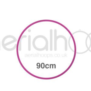 90cm zero point aerial hoop lyra circus Pink
