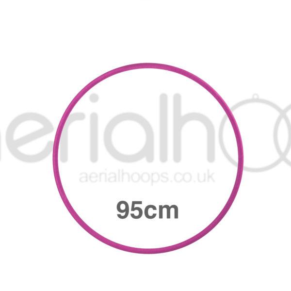 95cm zero point aerial hoop lyra circus pink