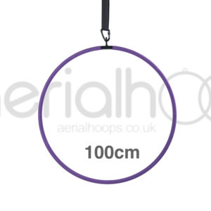 100cm aerial hoop lyra circus purple