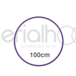100cm zero point aerial hoop lyra circus Purple