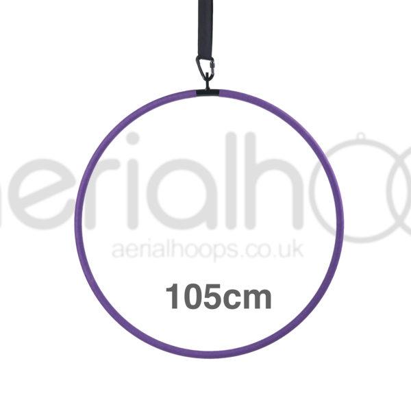 105cm aerial hoop lyra circus purple
