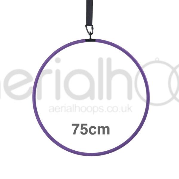 75cm aerial hoop lyra circus purple