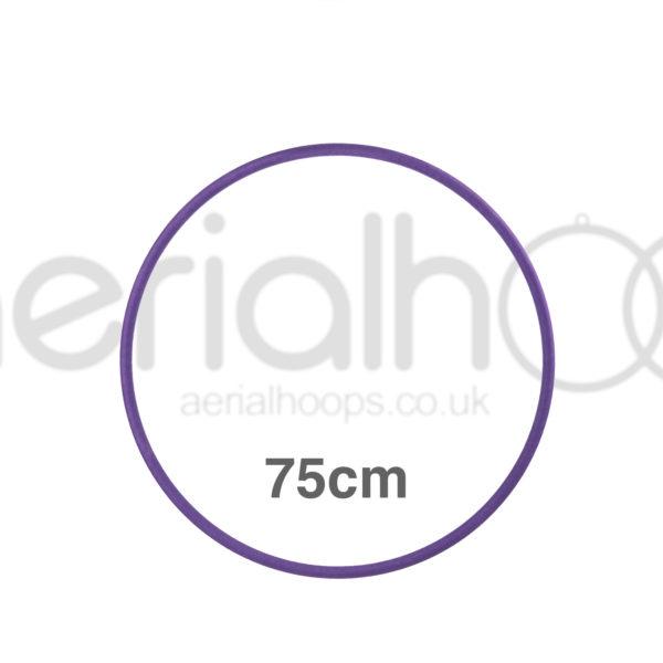 75cm zero point aerial hoop lyra circus purple