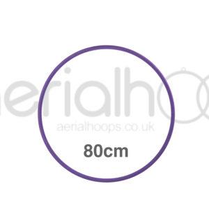 80cm zero point aerial hoop lyra circus Purple