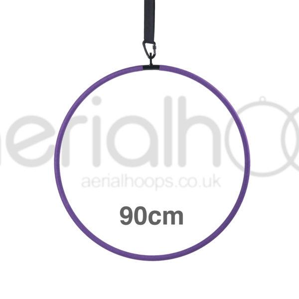 90cm aerial hoop lyra circus purple