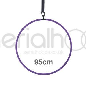 95cm aerial hoop lyra circus purple