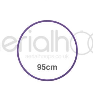 95cm zero point aerial hoop lyra circus purple