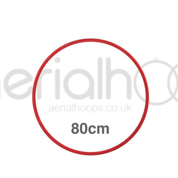 80cm zero point aerial hoop lyra circus Red