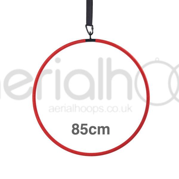 85cm aerial hoop lyra circus red