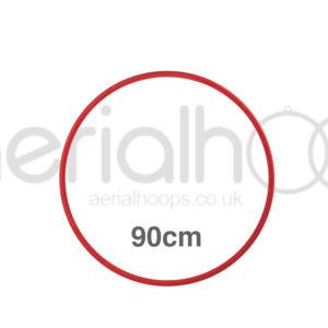 90cm zero point aerial hoop lyra circus Red