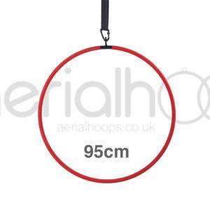 95cm aerial hoop lyra circus red