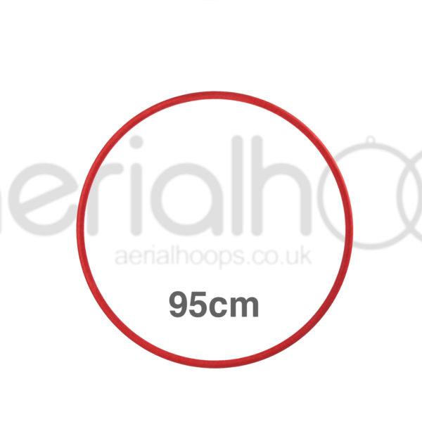 95cm zero point aerial hoop lyra circus red