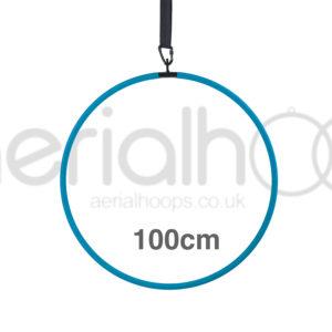 100cm aerial hoop lyra circus turquoise
