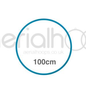 100cm zero point aerial hoop lyra circus Turquoise