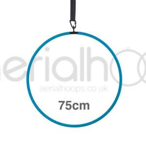 75cm aerial hoop lyra circus turquoise