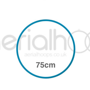 75cm zero point aerial hoop lyra circus turquoise