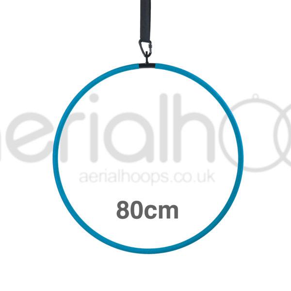 80cm aerial hoop lyra circus turquoise