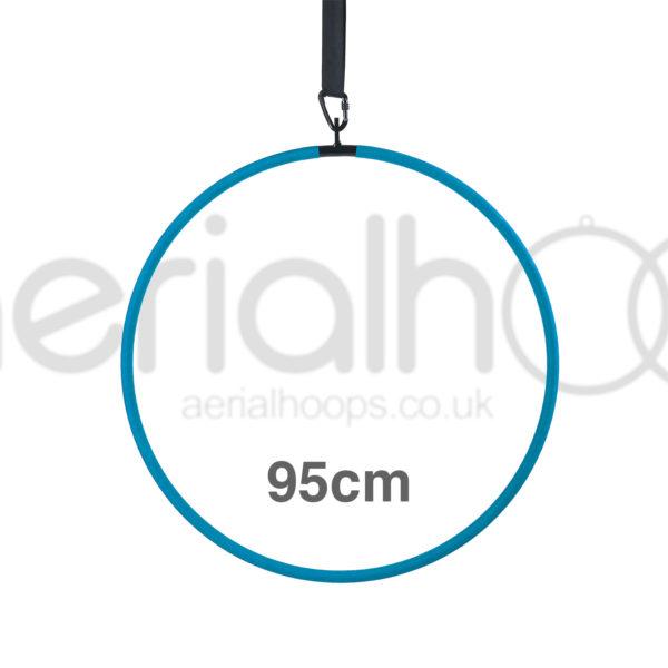 95cm aerial hoop lyra circus turquoise