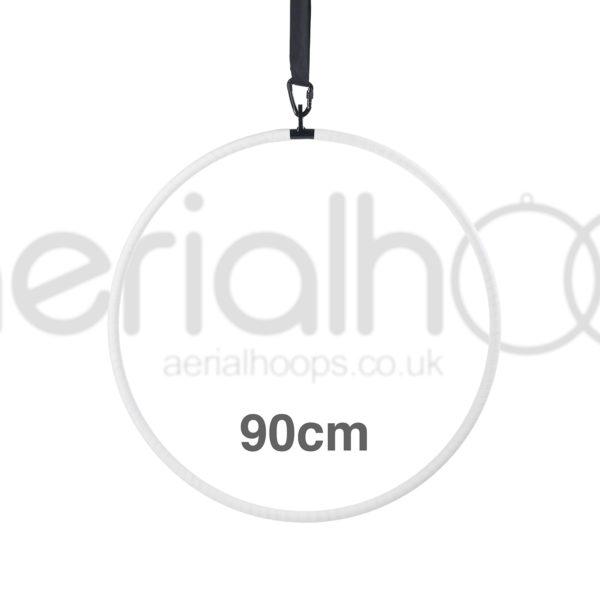90cm aerial hoop lyra circus white