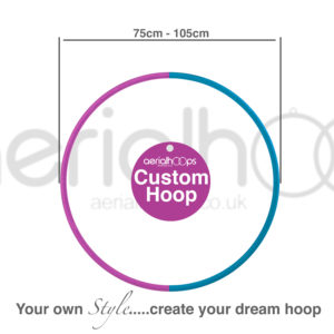 Aerial hoop Zero Point lyra circus custom hoop 75 80 85 90 95 100 105cm