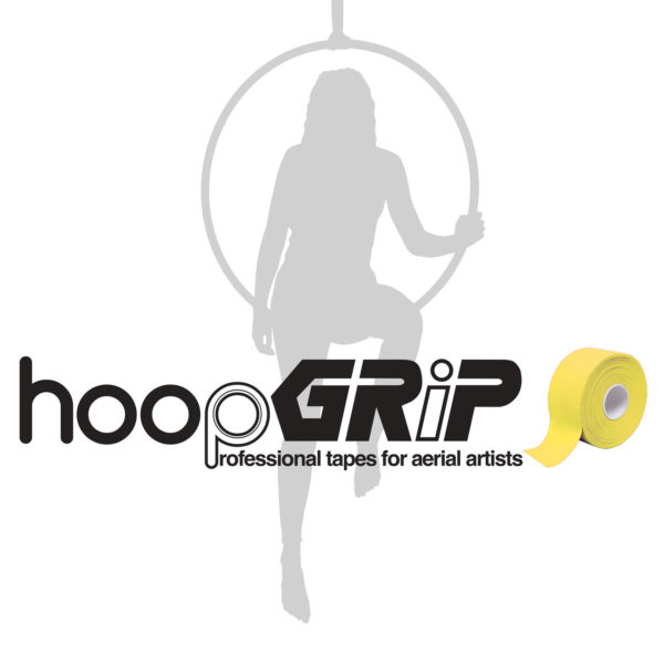 aerial hoop lyra circus HoopGrip Athletic Tapes yellow