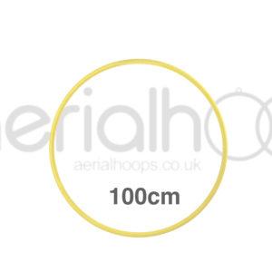 100cm zero point aerial hoop lyra circus Yellow