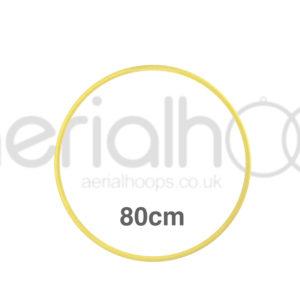 80cm zero point aerial hoop lyra circus yellow