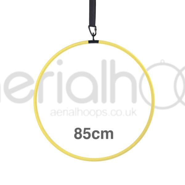 85cm aerial hoop lyra circus yellow