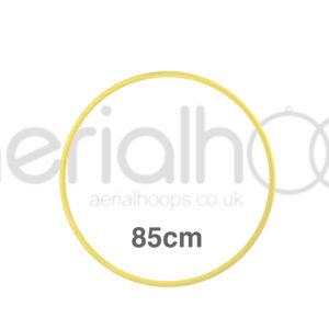 85cm zero point aerial hoop lyra circus yellow